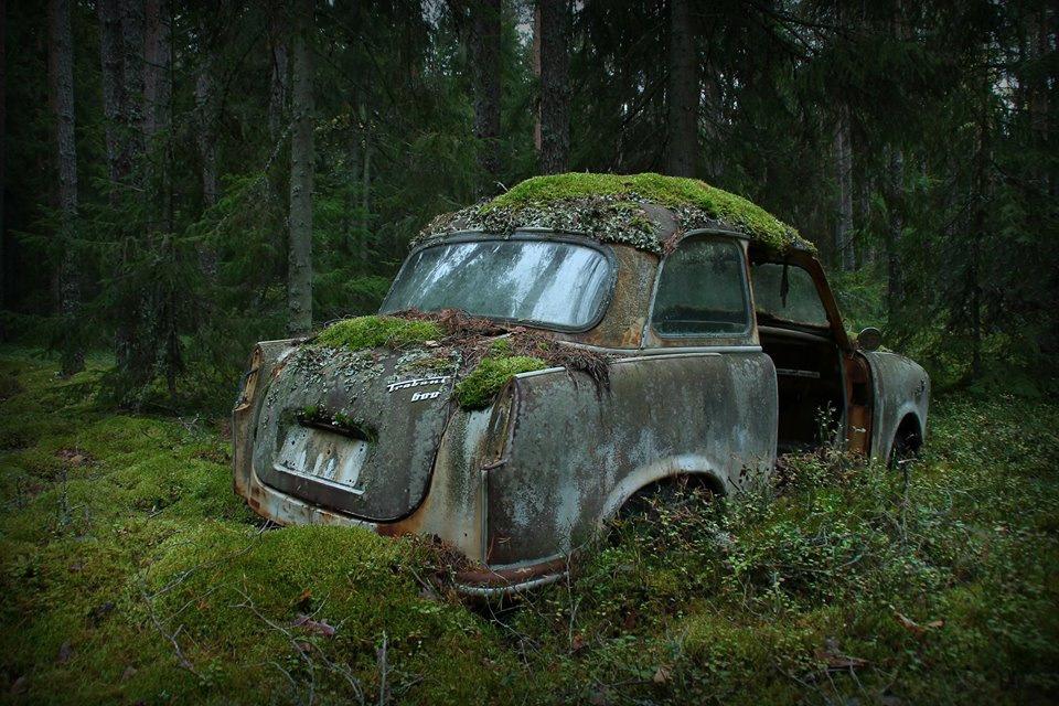 брошенные автомобили в россии фото старинные приходом
