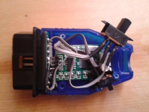 Блог им. Girman: Доработка KKL Vag Com 409 адаптер