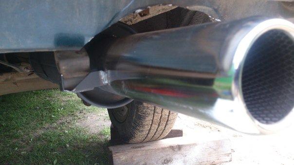 Как сделать глушитель на ваз 2104