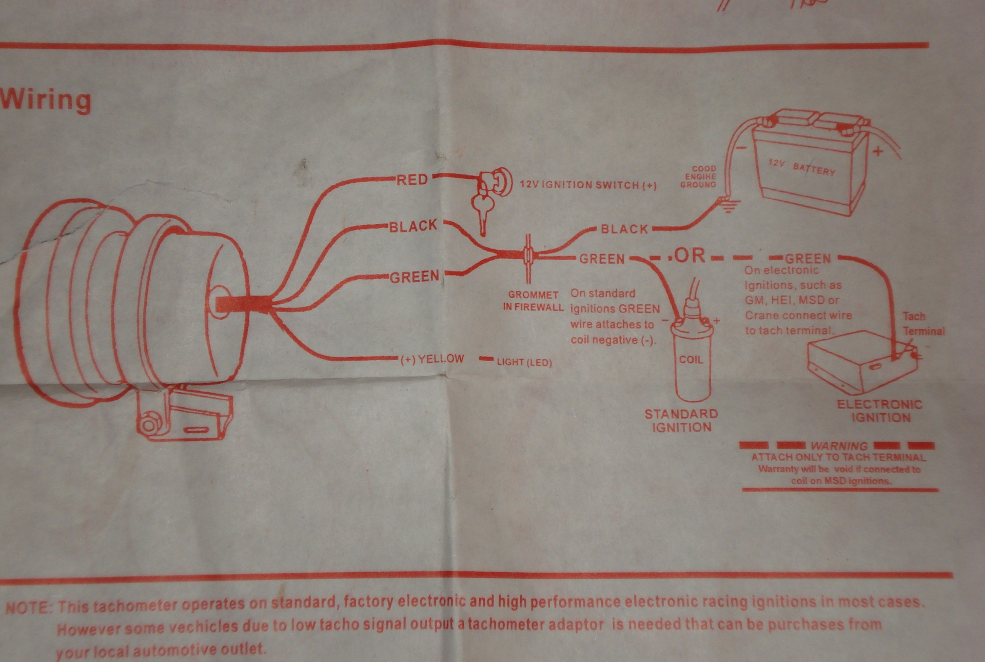 схема подключения тахометра на ваз-21099