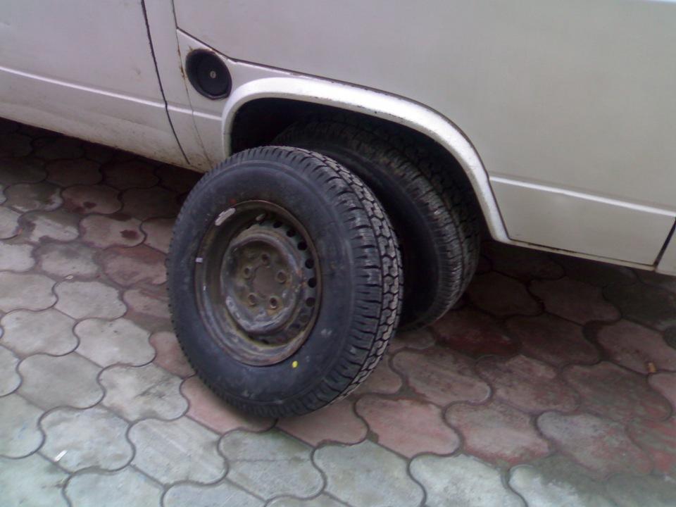 Поменял задние колёса (Yokohama), примерка амортизаторов.