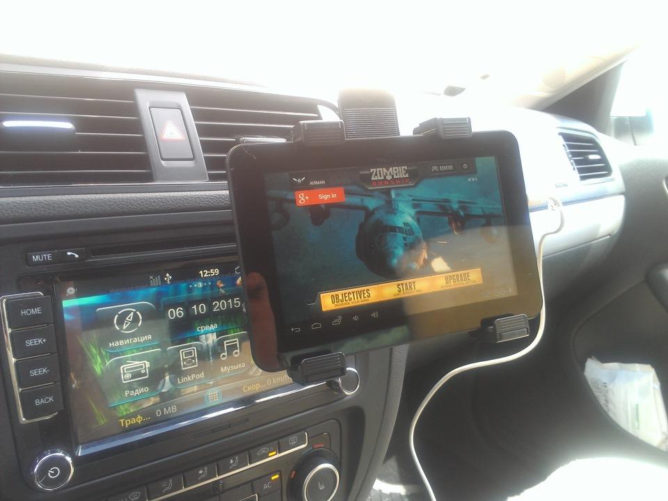 Автомобильный держатель для планшета 8 дюймов