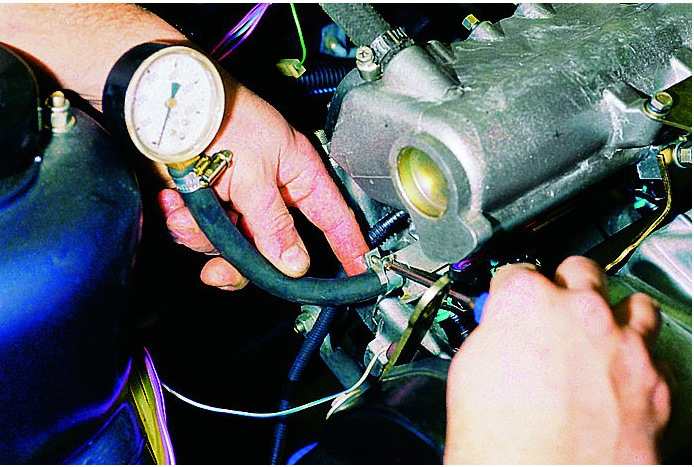 Фото №33 - давление топлива в рампе ВАЗ 2110