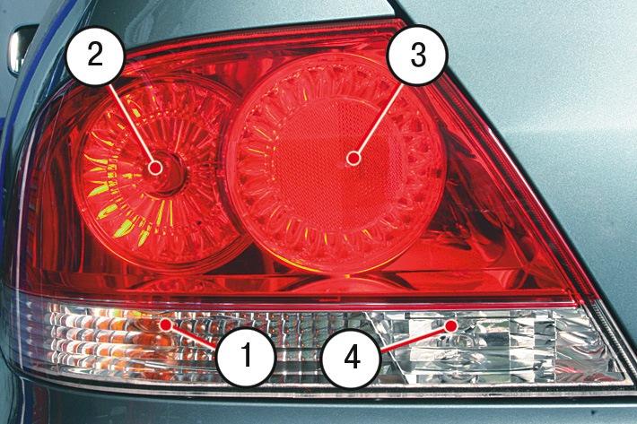 Замена лампы фонаря заднего хода митсубиси лансер 9 Диагностика форсунок двигателя авео
