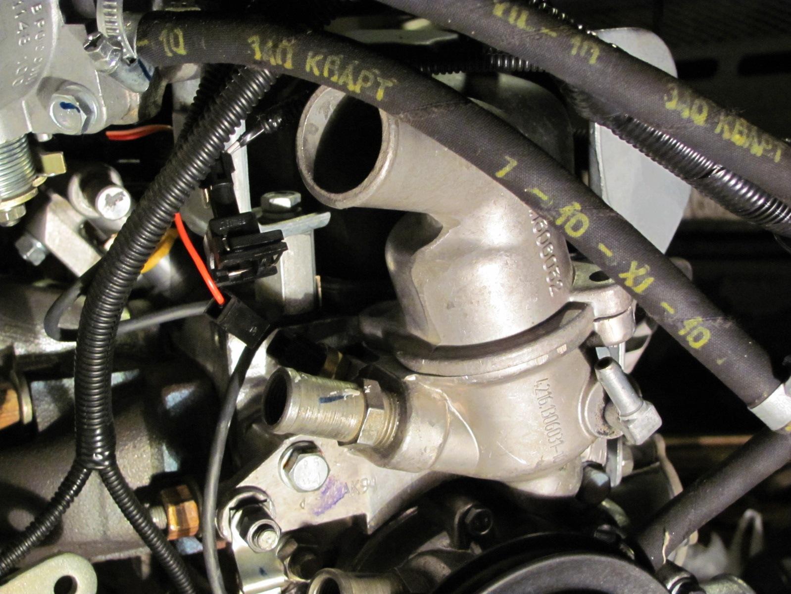 Схема системы охлаждения двс 4216 фото 145