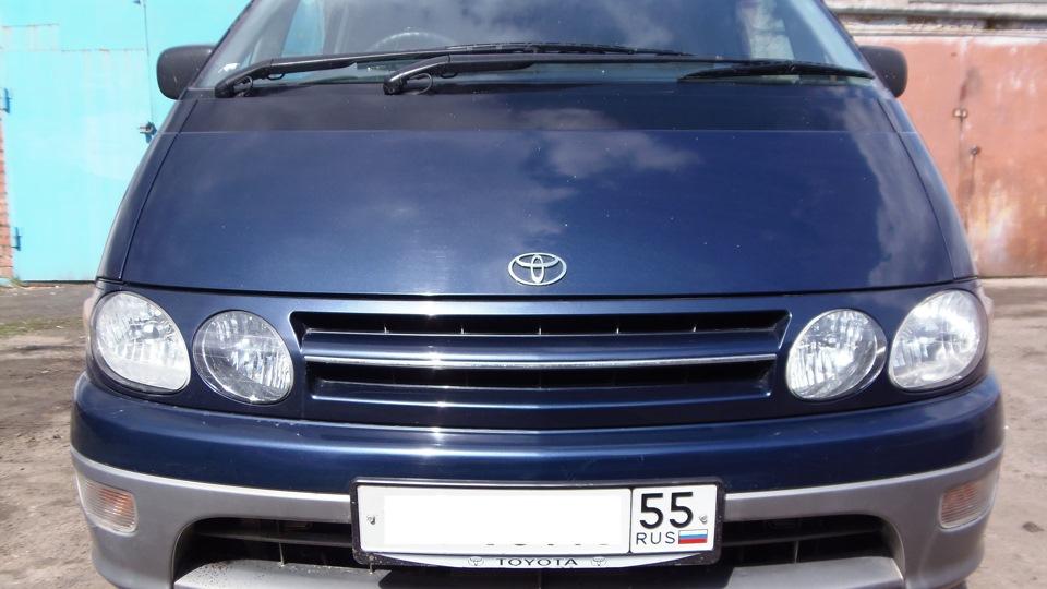 Toyota lucida estima на запчасти