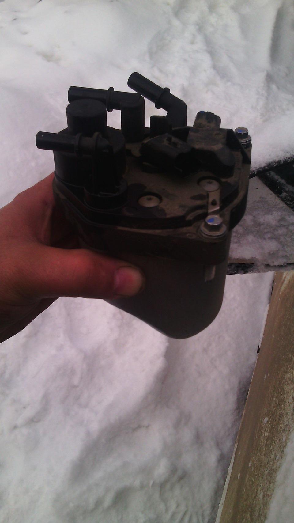 Пежо 408 замена топливного фильтра своими руками 54