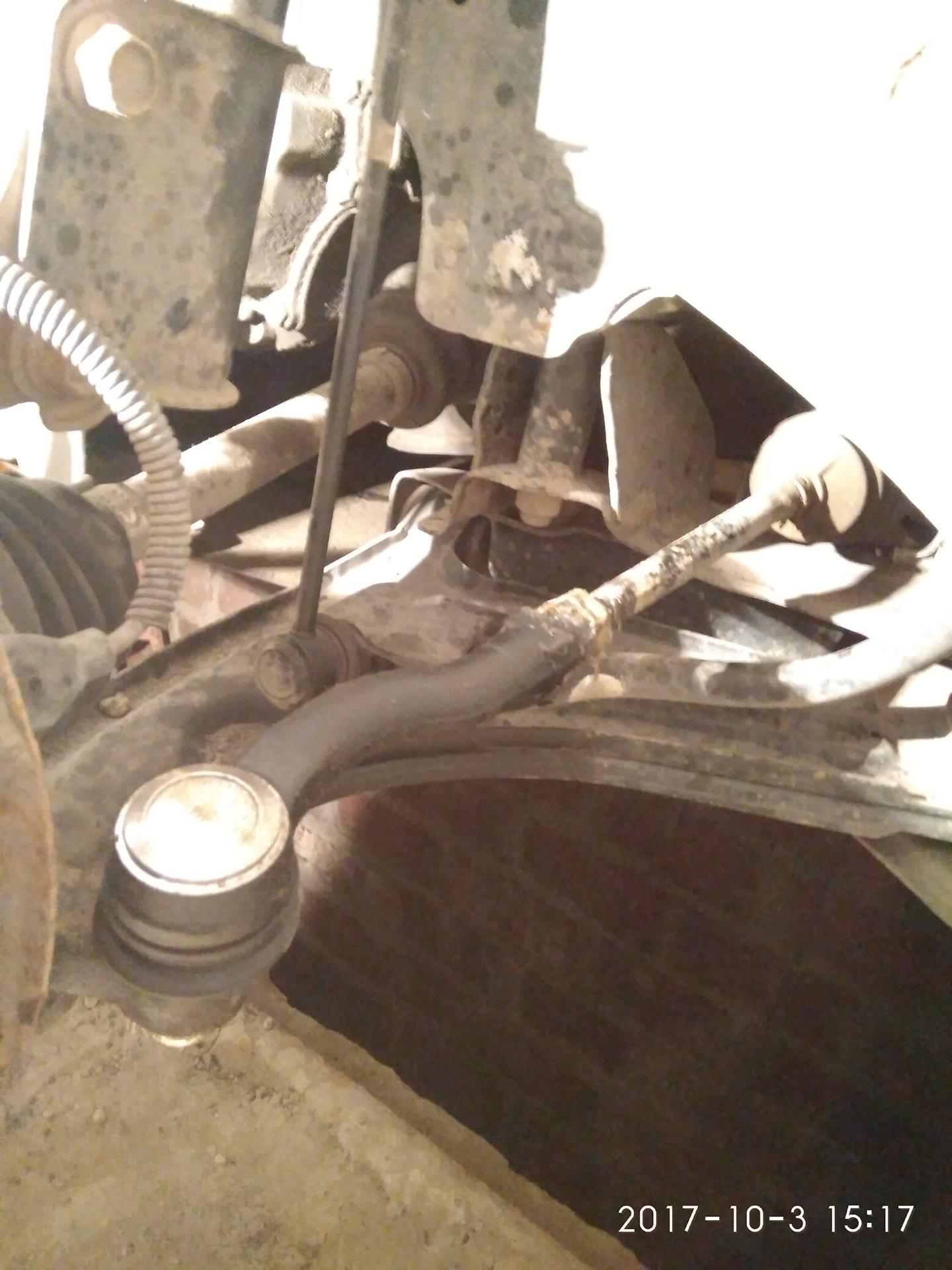 Замена рулевых наконечников на шевроле ланос своими руками