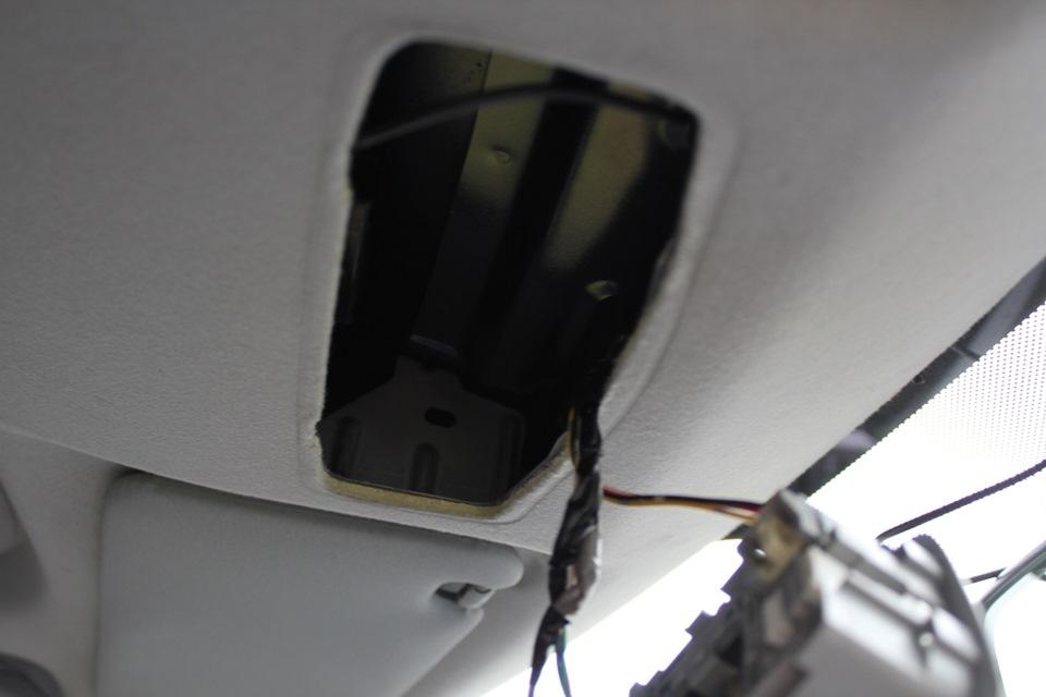 mitsubishi asx подключение питания видеорегистратора