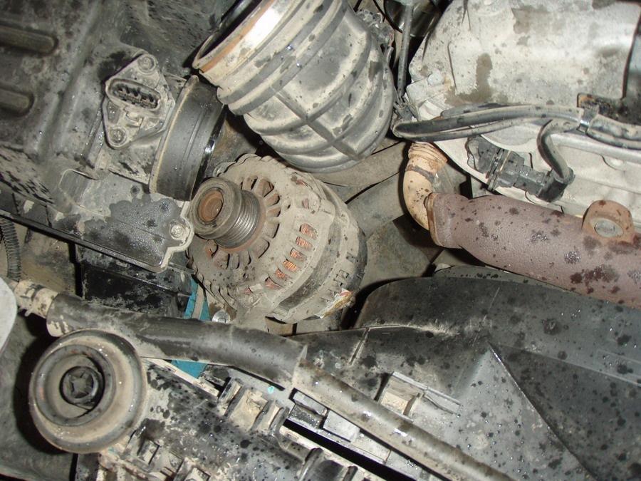 Замена генератора и обгонной муфты - logbook SsangYong Rexton 2008 on DRIVE2