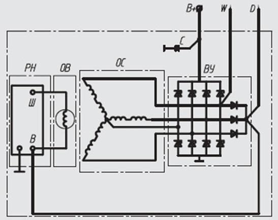 Схема электрическая-