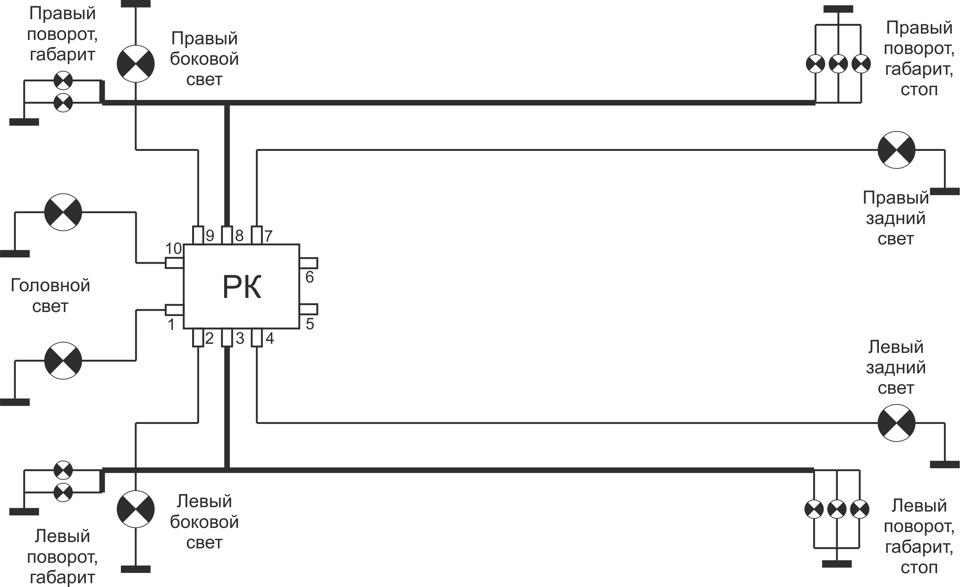 транзисторы, вместо реле.