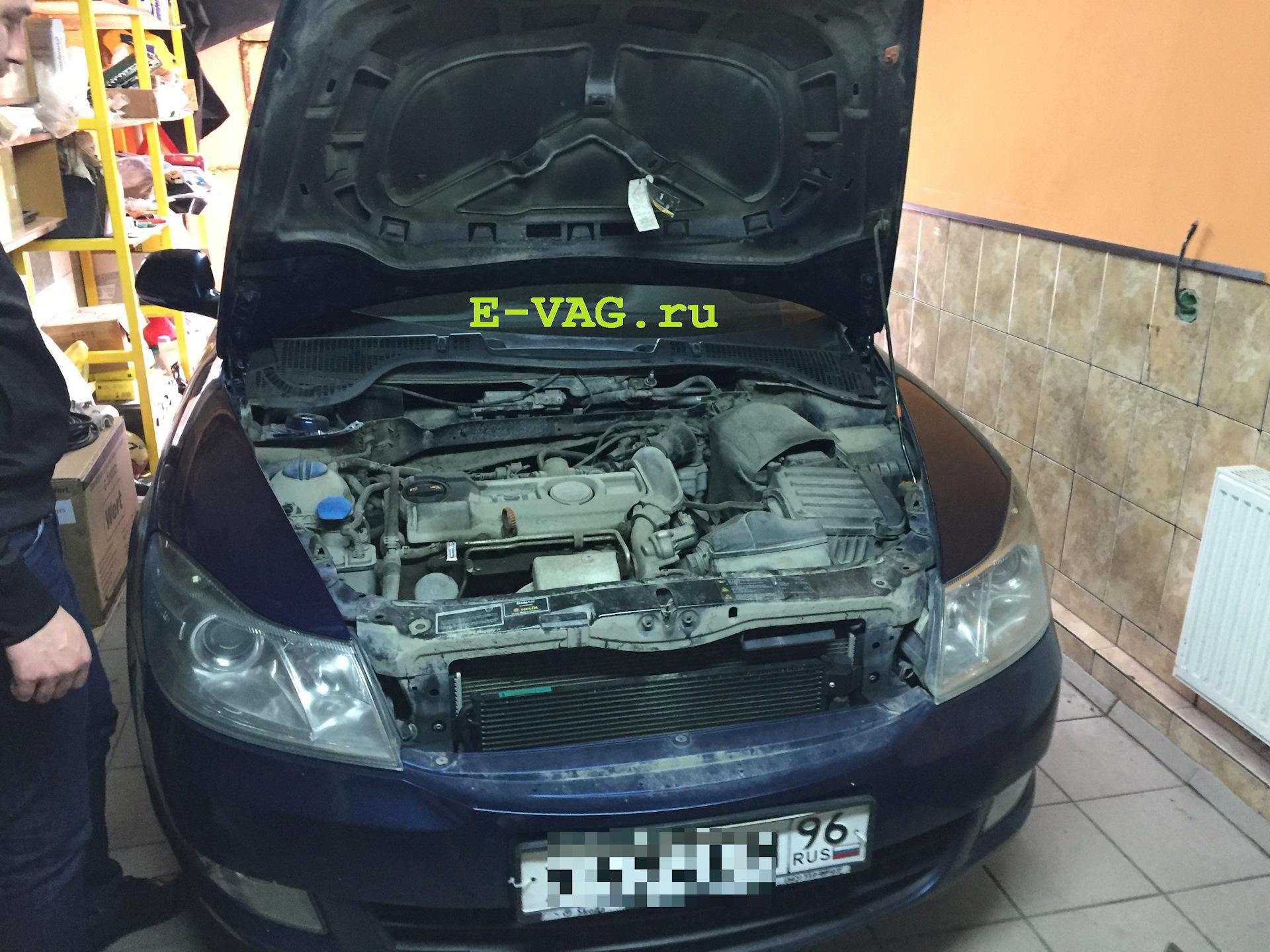 доработка двигателя skoda a5