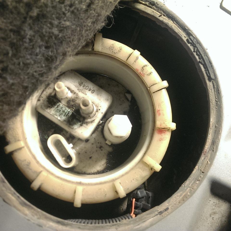 замена топливного фильтра мерседес мл 320 2000 фото