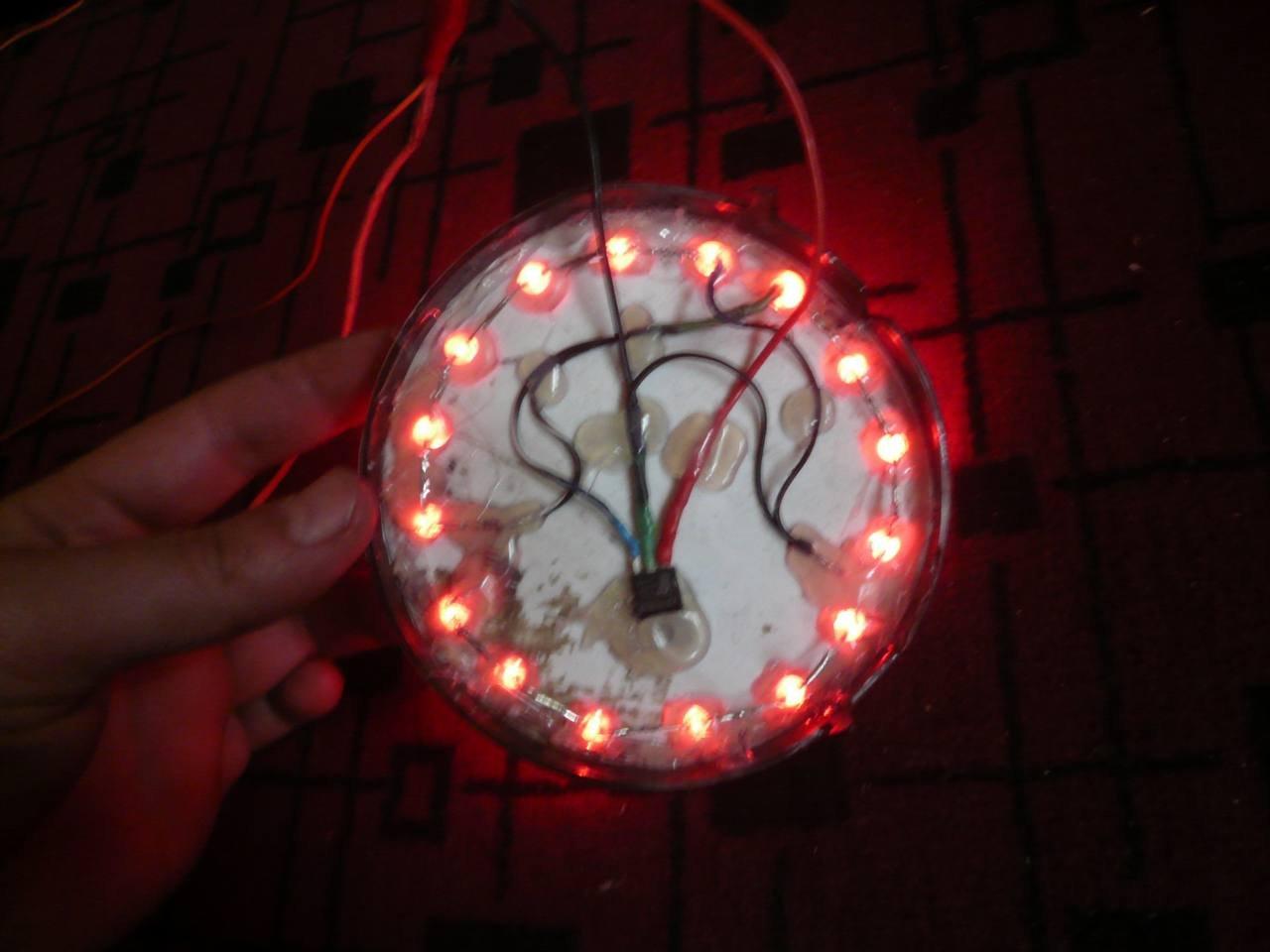 Как сделать фонарик из светодиодов