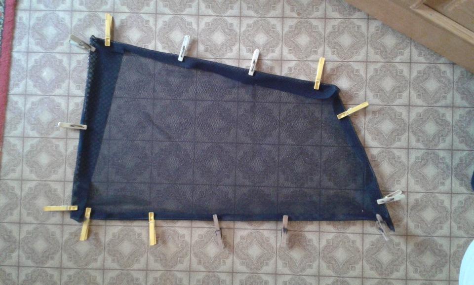 Каркасные шторки своими руками бортжурнал KIA Cerato