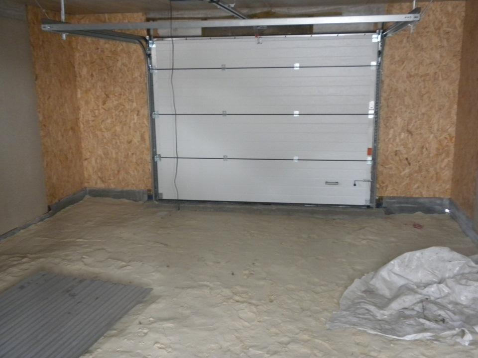 Строим гараж своими руками с фото