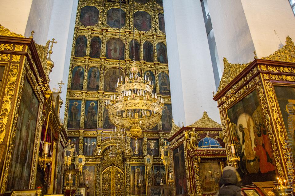 Софийский собор изнутри