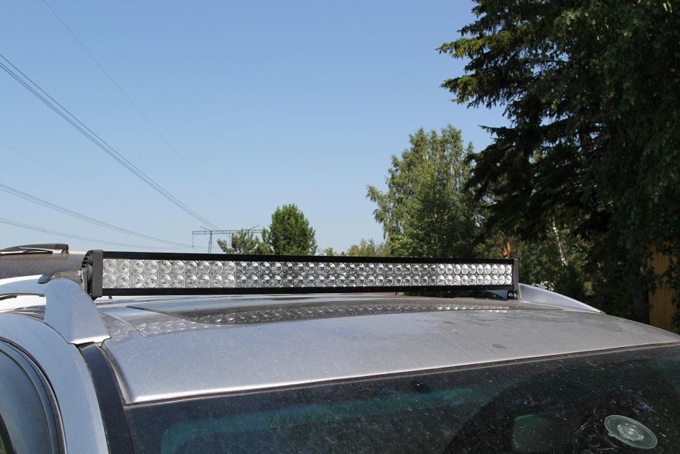 светодиодная балка на крышу вариант