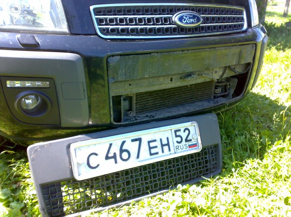 ford fusion бампер передний