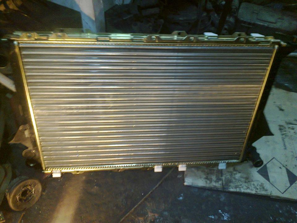 замена радиатора охлаждения audi a6 3.2 fsi стоимость
