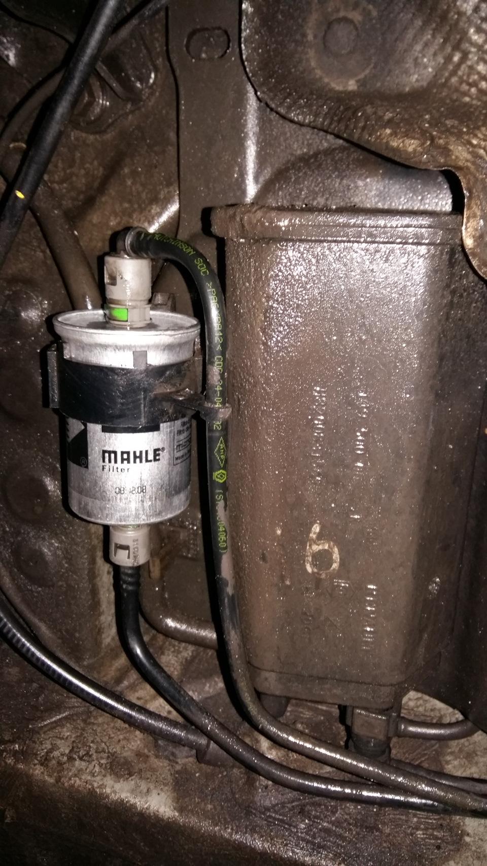 Рено флюенс замена топливного фильтра