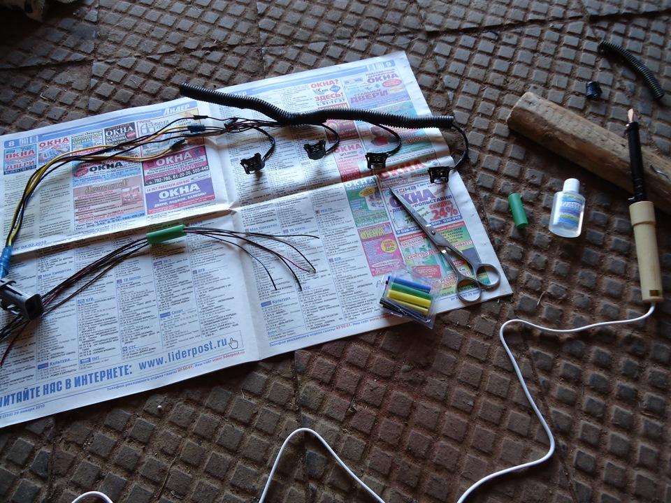 Фото №2 - проводка форсунок ВАЗ 2110