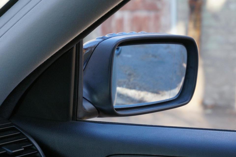 как настроить зеркало заднего вида мерседес