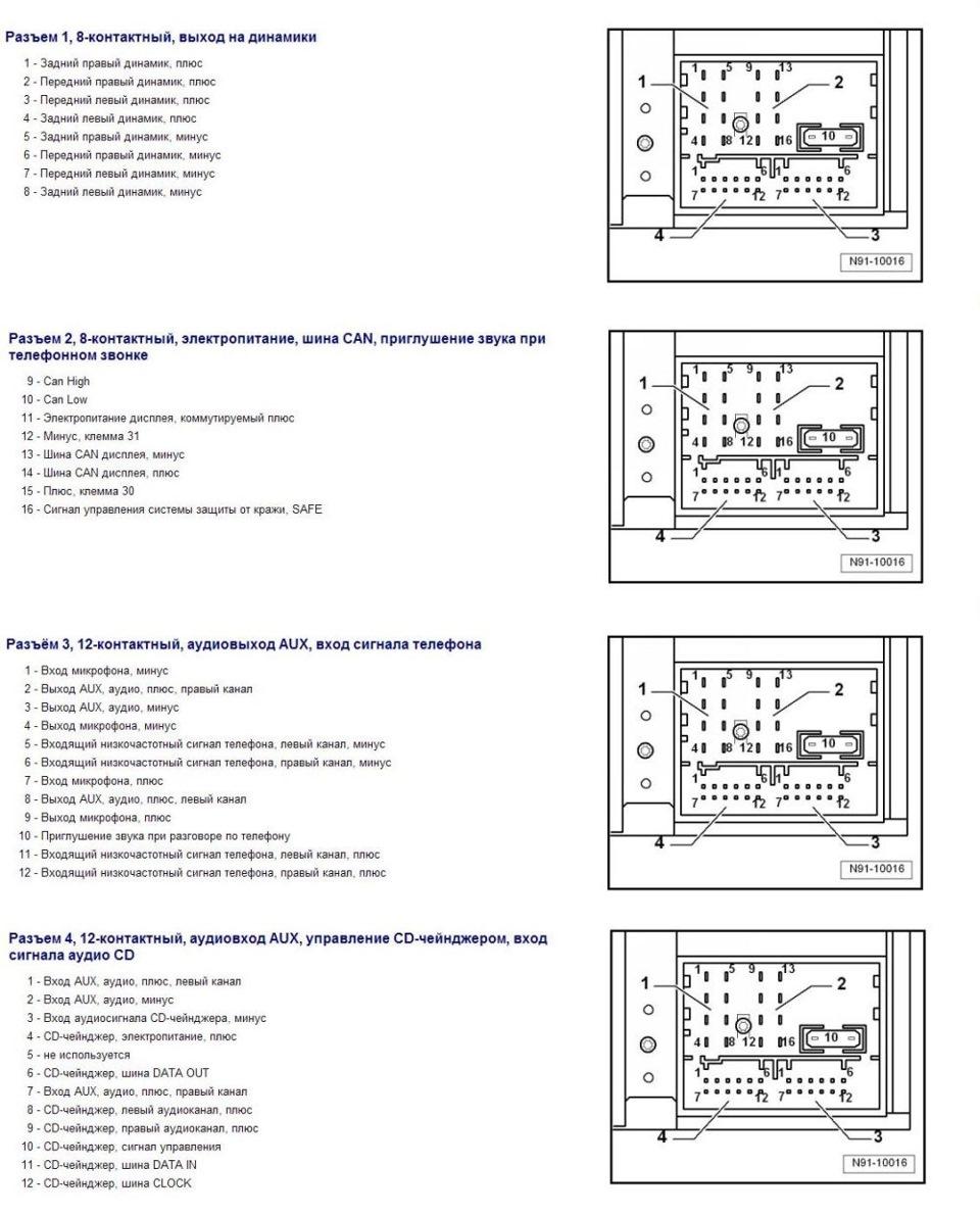 Mitsubishi outlander 2016 схема подключения магнитолы