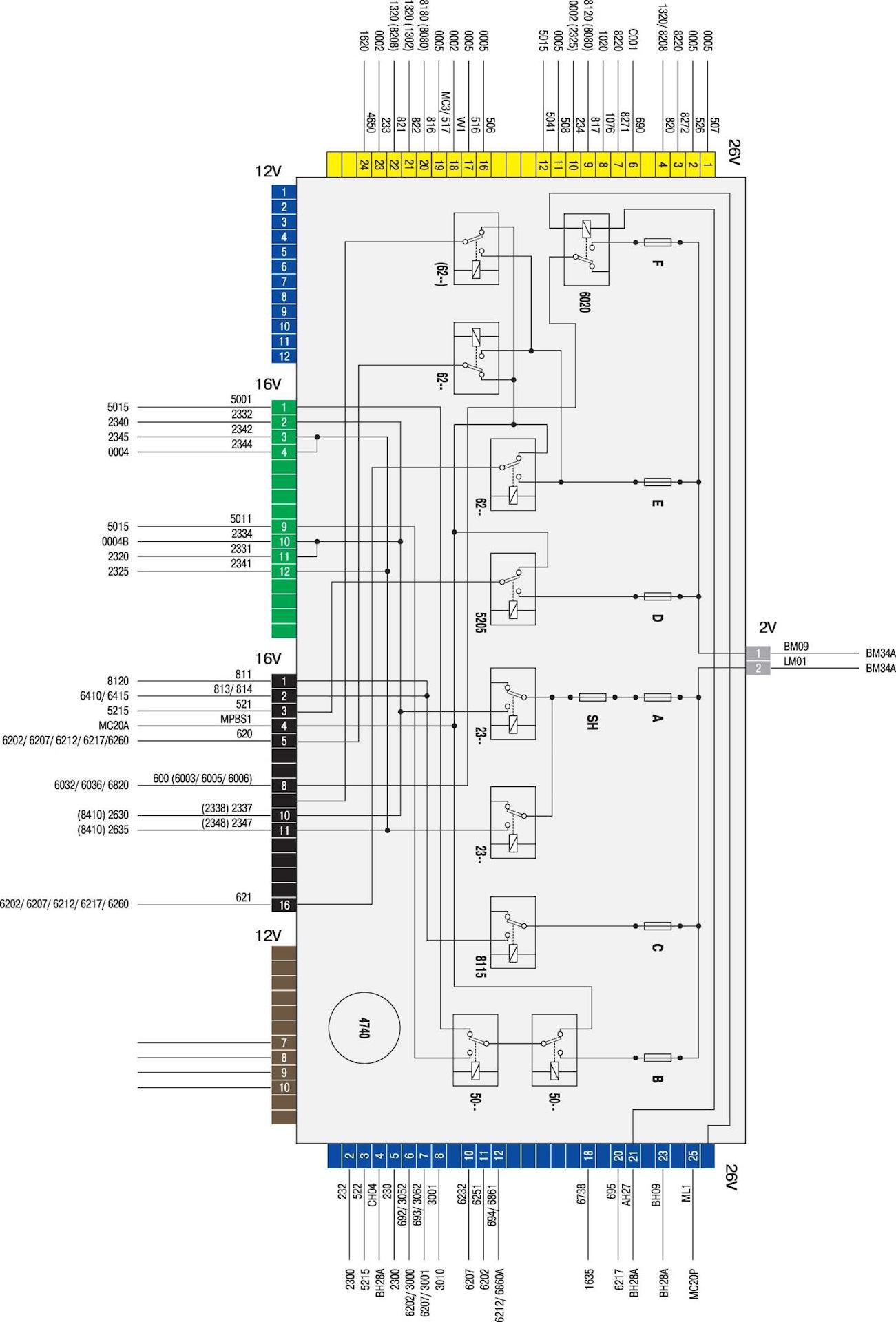 Электрическая схема пежо-206