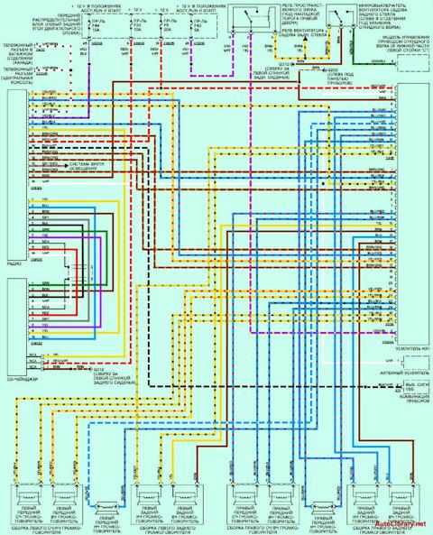 бмв х5 е53 схема электрическая