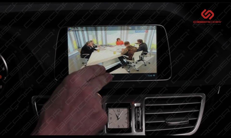 Цифровое интернет-ТВ. Установка ТВ-тюнера не требуется, показывает через GSM-канал.