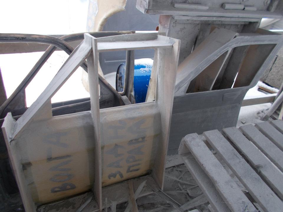 Пластиковые двери на волгу 31105