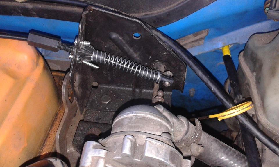 Замена троса газа форд фиеста Замена ступичного подшипника рено симбол