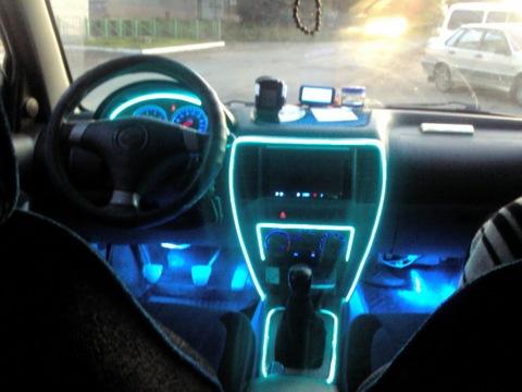 Как сделать светодиодную ленту в машине