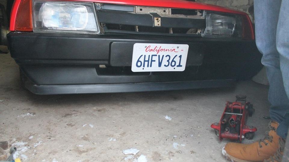Фото №4 - губа на бампер ВАЗ 2110
