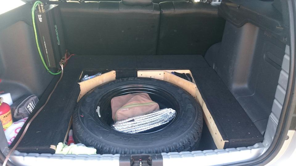 Органайзер в багажник рено логан своими руками 55