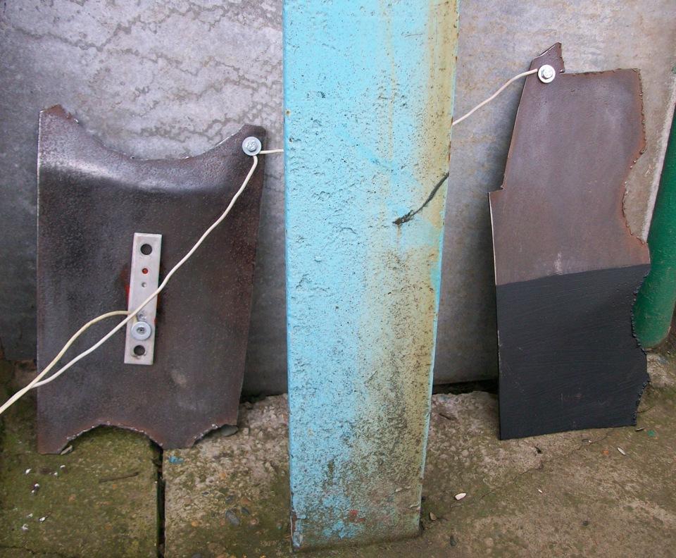 Анодная защита кузова
