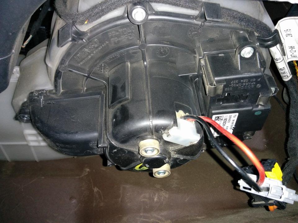 ситроен с4 не работает вентилятор печки