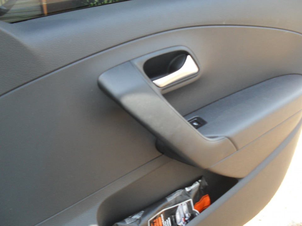 volkswagen polo карбоновыя панель