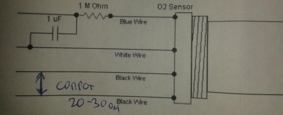 Сопротивление на нагреватель лямбда зонда bmw е34