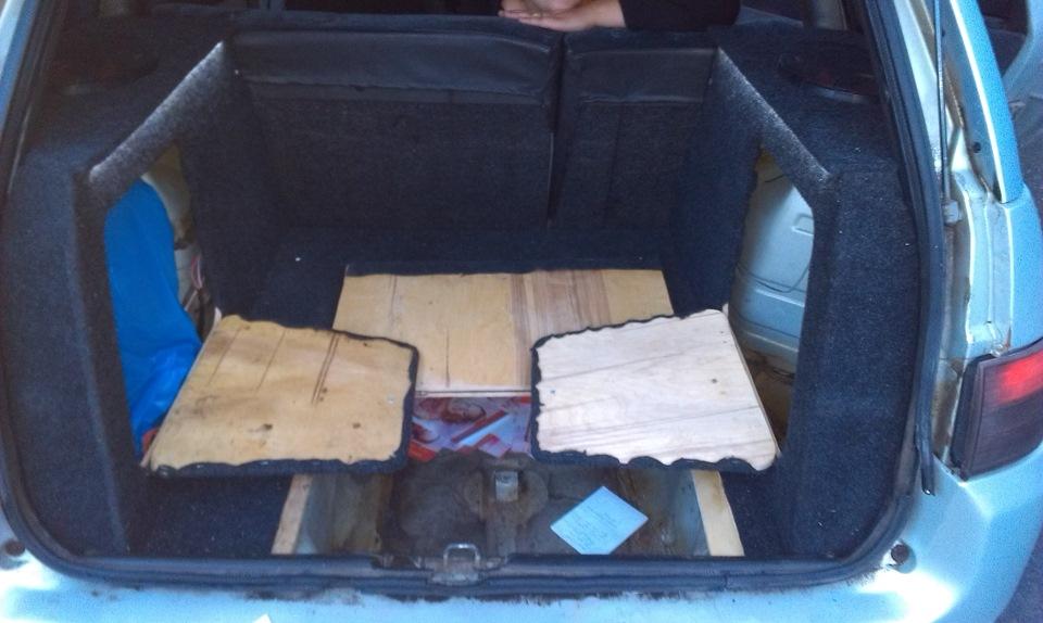 Багажник ваз 2111 своими руками
