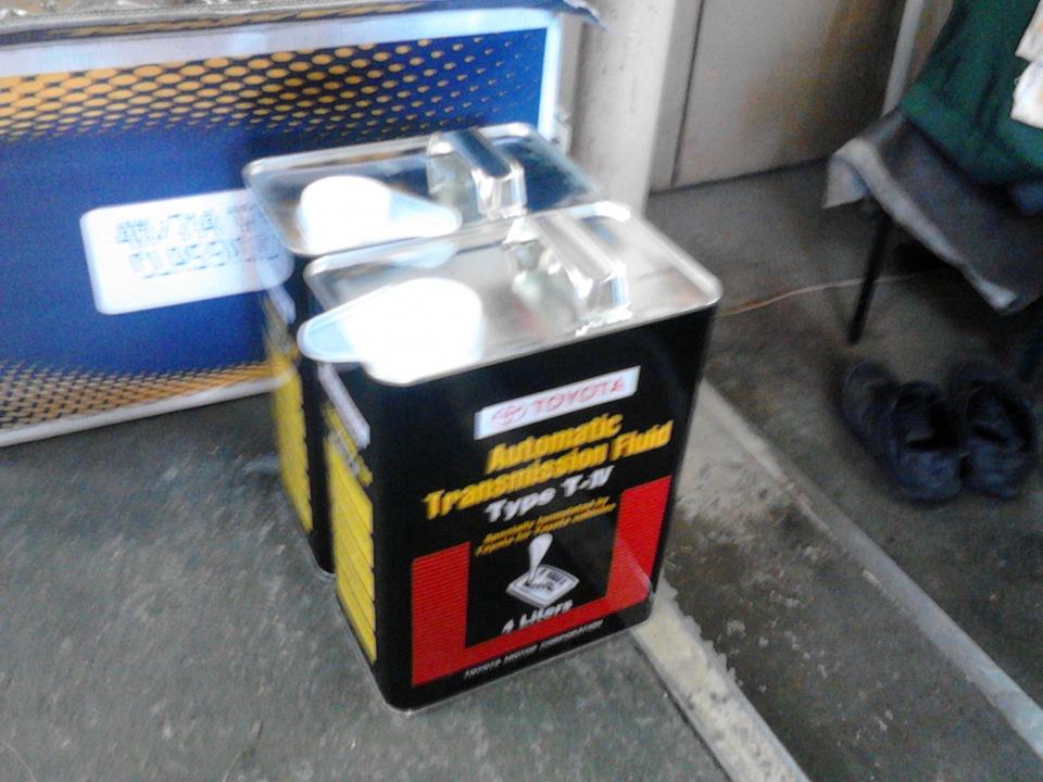 масло в коробку toyota succed