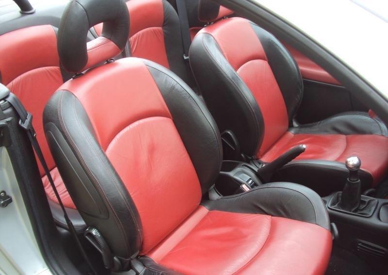 peugeot 206 cc задние пассажиры