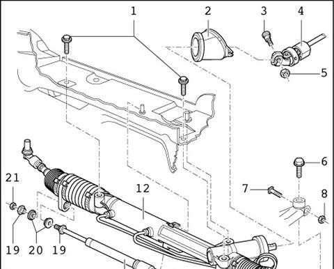Рулевая рейка ремонт своими руками ауди а6
