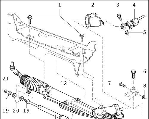 Рулевая рейка ремонт своими руками ауди
