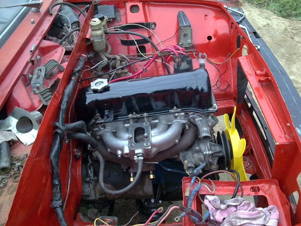 двигатели фиат 124