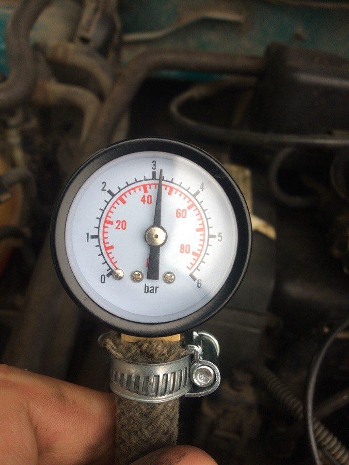 Поднимаем давление в топливной рампе