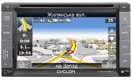 Cyclon Sdv-6511 Gps Инструкция - фото 6