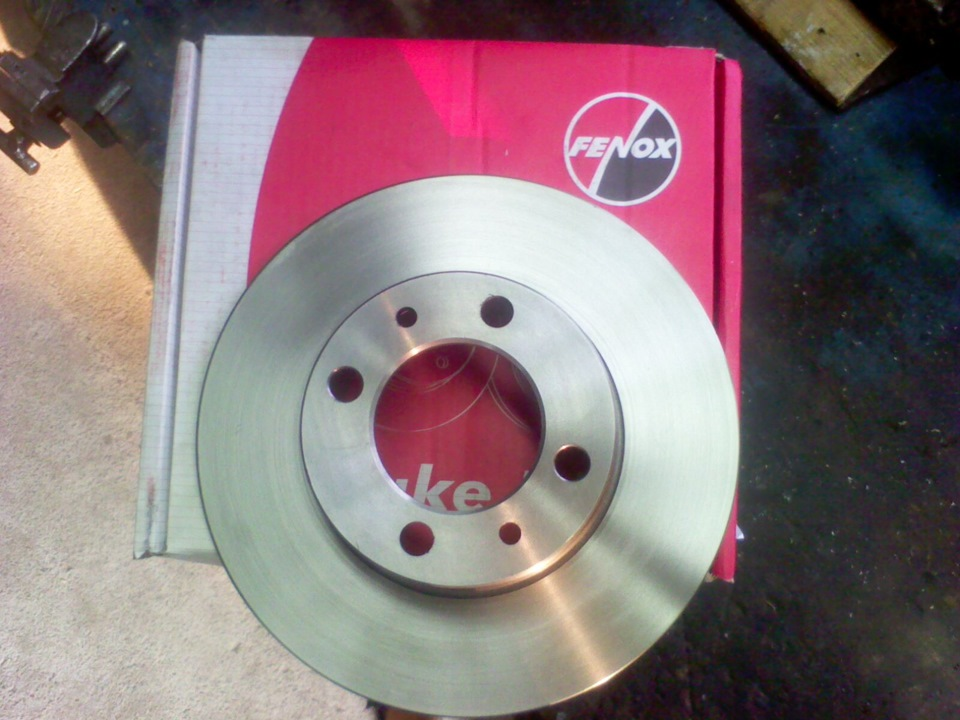 Фото №13 - минимальная толщина тормозного диска ВАЗ 2110